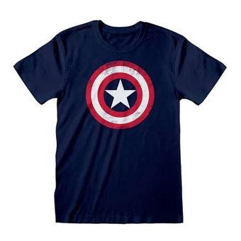 T-Shirt Captain America: Shield - Tamanho S