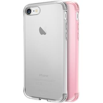 Capas It Skins Zero Gel 2 Pack para iPhone 7/8 - Rosa / Transparente