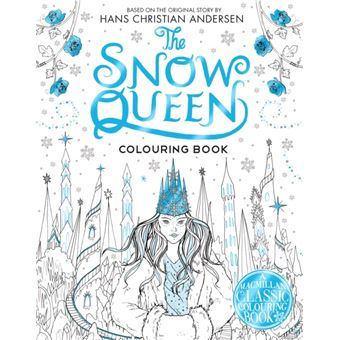 The snow queen colouring book