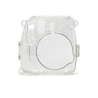 Capa Fuji Sparkly para Mini 9 - Transparente Brilhante