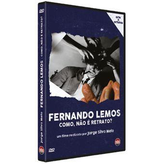 Fernando Lemos: Como, Não é Retrato? - DVD
