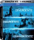 Da Série Divergente: Pack Divergente + Insurgente + Convergente