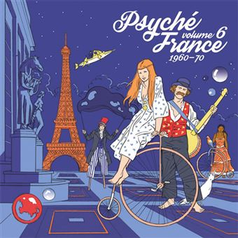 Psyché France Vol 6 - 1960-1970 - LP 12''