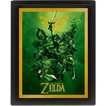 Poster 3D Lenticular The Legend of Zelda