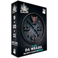 Fã Pack FNAC NOS Alive 2020 - Da Weasel - T-Shirt M | Preço: 69€ Pack + 5.09€ Custos de Operação