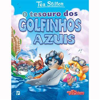 As Aventuras das Tea Sisters: O Tesouro dos Golfinhos Azuis