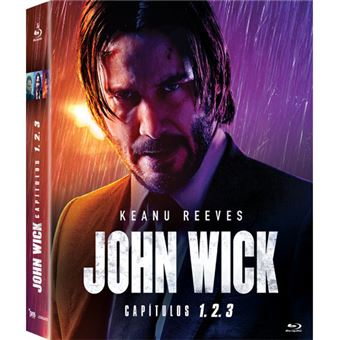 Pack John Wick 1+2+3 - 3Blu-ray