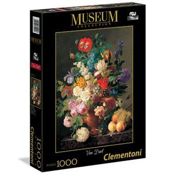 Puzzle Van Dael: Vaso de Flores - 1000 Peças - Clementoni