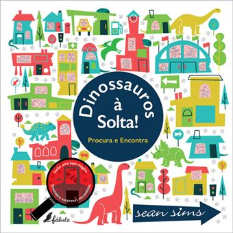 Dinossauros à Solta! - Procura e Encontra