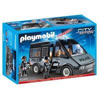 Playmobil City Action 6043 Carrinha da Polícia com Luzes e Som