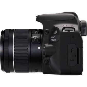 Pack Fnac Canon EOS 200D + EF-S 18-55mm f 4-5.6 IS STM + Cartão SD + Bolsa  - Câmara Reflex (D-SLR) - Compra na Fnac.pt b30fd774b8a1