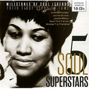5 Soul Superstars: Their First Steps to Fame - 10CD