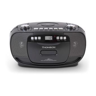 Thomson RK200CD Análogo 2.4W Preto rádio CD