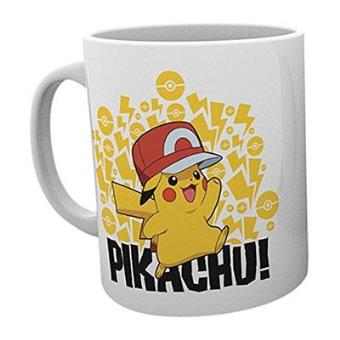 "Pokémon - Caneca ""Pokemon, Ash Hat Pikachu"""