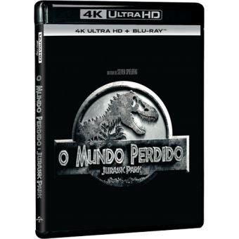 O Mundo Perdido: Jurassic Park - 4K Ultra HD + Blu-ray