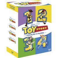 Pack Toy Story - Coleção 4 Filmes - DVD