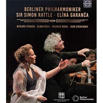 Sir Simon Rattle & Elina Garanca -  Blu-ray