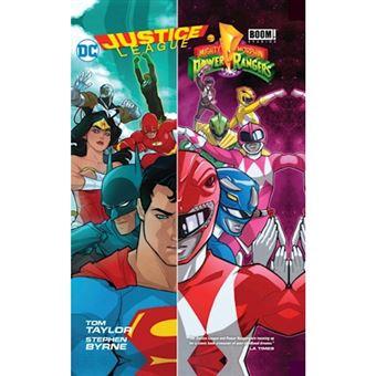 Justice leaguepower rangers hc