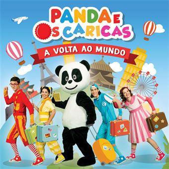 Panda e os Caricas - A Volta ao Mundo - CD