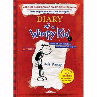 Aprende Inglês com o Diário de um Banana: Diary of a Wimpy Kid