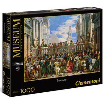 Puzzle Veronese: As Bodas de Caná - 1000 Peças - Clementoni
