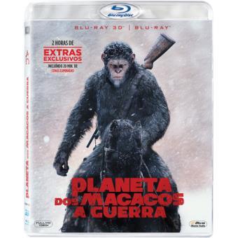 Planeta dos Macacos: A Guerra (Blu-ray 3D + 2D)
