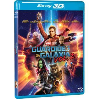 Guardiões da Galáxia Vol. 2 (Blu-ray 3D + 2D)