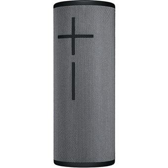 Colunas Bluetooth Logitech Megaboom 3 - Storm Gray