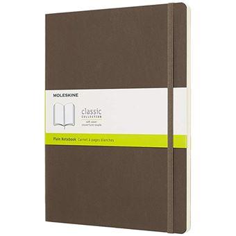 Caderno Liso Moleskine Moleskine Soft XL Castanho Terra