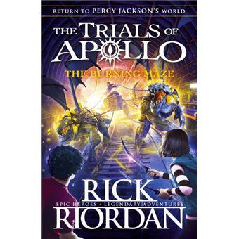 Burning maze (the trials of apollo