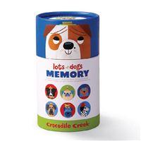 Jogo de Memória: Pares Cães - Crocodile Creek