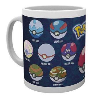 """Pokémon - Caneca """"Ball Varieties"""""""