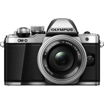 Olympus OM-D E-M10 Mark II + M.Zuiko Digital ED 14-42mm f/3.5-5.6 EZ (Prateado)