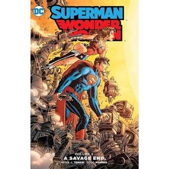 Superman wonder woman tp vol 5