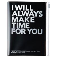 Agenda Semanal 2020-2021 Mark's Storage.it  A6 Letras Prateadas