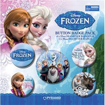 Conjunto de Pins Disney Frozen