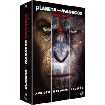 Planeta dos Macacos - Triologia (DVD)