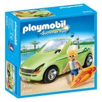 Playmobil Summer Fun 6069 Surfista com Descapotável