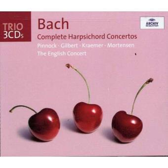 J.S. Bach: Complete Harpsichord Concertos (3CD)