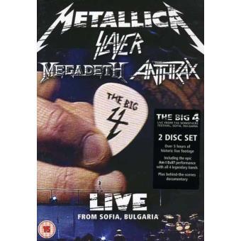 The Big Four: Live From Sofia, Bulgaria 22.06.2010 (2DVD)