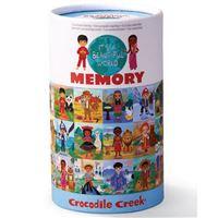 Jogo de Memória: Pares Meninos do Mundo - Crocodile Creek