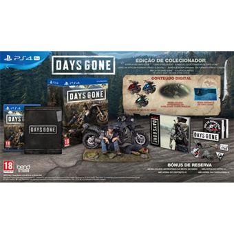 Days Gone - Edição de Colecionador - PS4