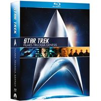 Star Trek: Trilogia Genesis - Filmes 2 a 4 - Blu-ray