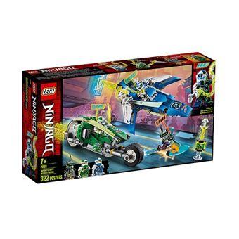 LEGO NINJAGO 71709 Veículos de Corrida de Jay e Lloyd