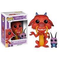 Funko Pop! Disney Mulan: Mushu & Cricket - 167