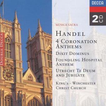 Handel: Coronation Anthems Nos. 1-4 (2CD)