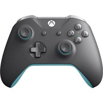 Comando Sem Fios Xbox – Cinzento   Azul