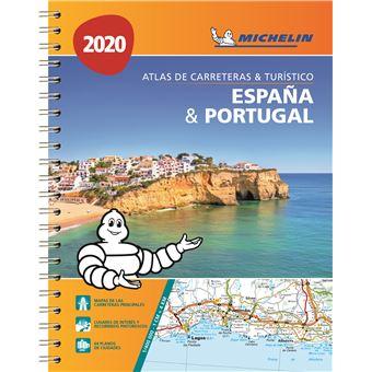 Atlas Rodoviário Michelin - Espanha Portugal 2020