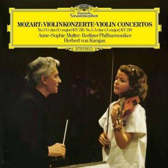 Mozart   Violin Concertos Nos. 3 & 5 (LP)