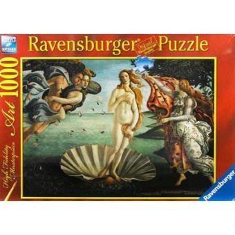 Puzzle Sandro Botticelli: O Nascimento de Vénus 1500 peças